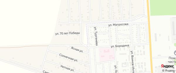 Балтийская улица на карте Стерлитамака с номерами домов