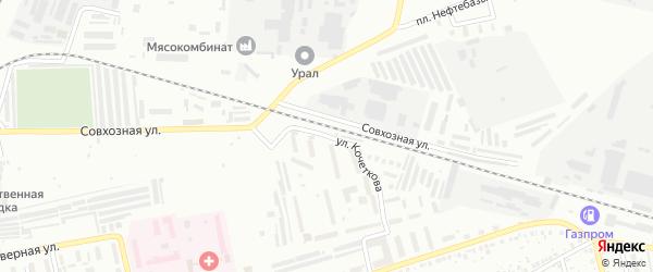 Улица Кочеткова на карте Мелеуза с номерами домов
