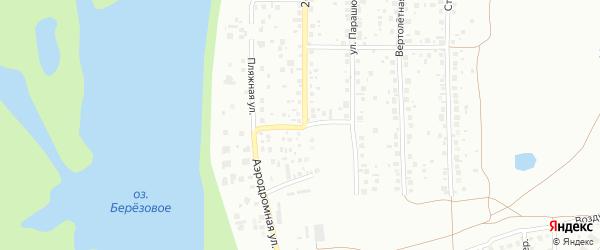 Аэродромная улица на карте Уфы с номерами домов