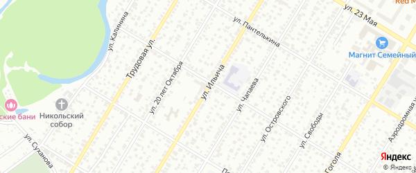 Улица Ильича на карте Стерлитамака с номерами домов