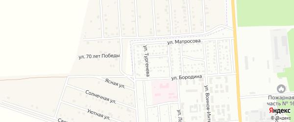 Улица Тургенева на карте Стерлитамака с номерами домов
