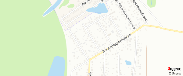 Улица Владимира Климова на карте Уфы с номерами домов