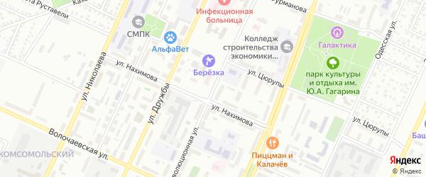 Революционная улица на карте Стерлитамака с номерами домов