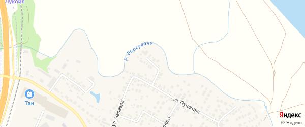 Речной переулок на карте села Чесноковки с номерами домов