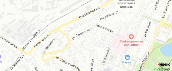 Улица Академика Филатова на карте Уфы с номерами домов