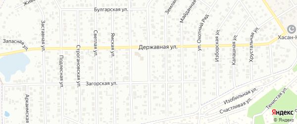 Улица Народных ополченцев на карте Уфы с номерами домов