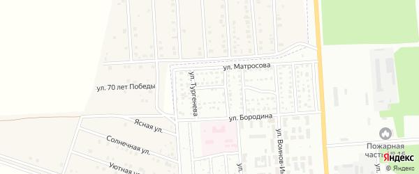 Союзная улица на карте Стерлитамака с номерами домов