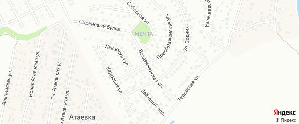 Преображенская улица на карте Уфы с номерами домов