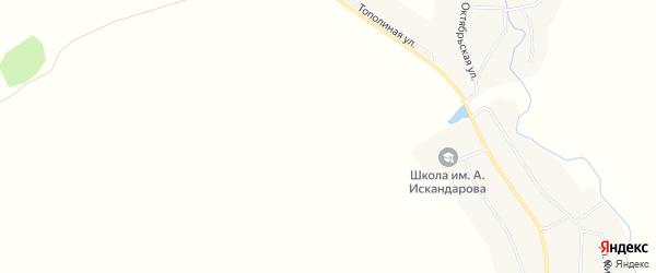 Карта деревни Юбайкулево в Башкортостане с улицами и номерами домов