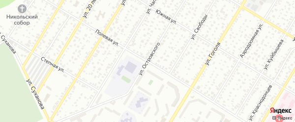 Полевая улица на карте Стерлитамака с номерами домов