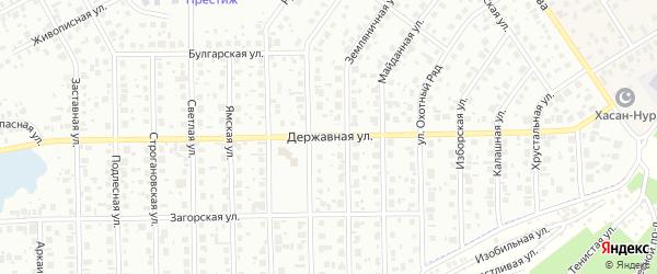 Державная улица на карте Уфы с номерами домов