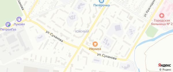 Улица Гоголя на карте Стерлитамака с номерами домов