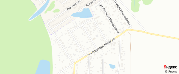 Улица Петра Еремеева на карте Уфы с номерами домов