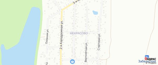7-й квартал на карте поселка Некрасово с номерами домов