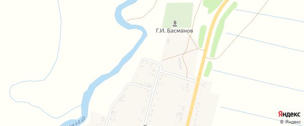 Садовая улица на карте деревни Покровки с номерами домов