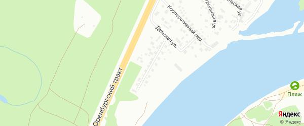 Кооперативная 2-я улица на карте Уфы с номерами домов