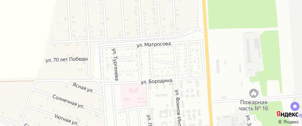 Краснофлотская улица на карте Стерлитамака с номерами домов