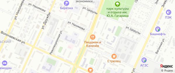 Проспект Ленина на карте Стерлитамака с номерами домов