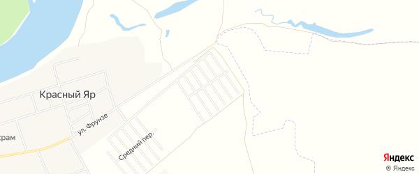 СНТ Дуслык-1 на карте Уфимского района с номерами домов