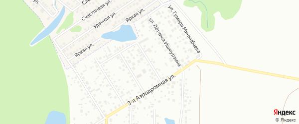 Улица Ивана Сухова на карте Уфы с номерами домов