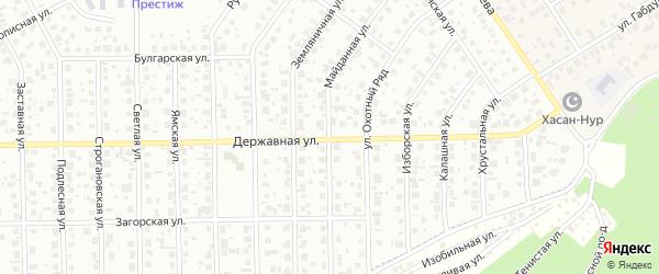 Майданная улица на карте Уфы с номерами домов