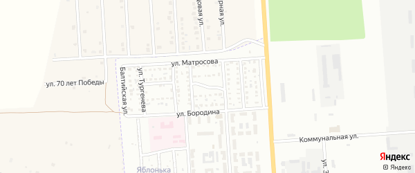Демская улица на карте Стерлитамака с номерами домов