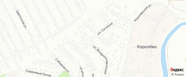 Улица Согласия на карте Уфы с номерами домов