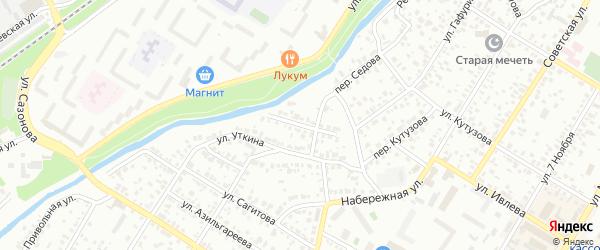 Стерлинская улица на карте Стерлитамака с номерами домов