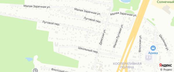 Тирлянская улица на карте Уфы с номерами домов