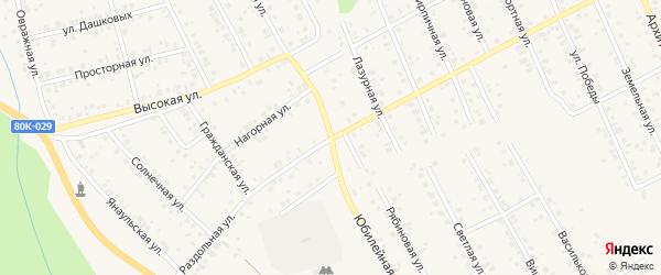 Раздольная улица на карте Благовещенска с номерами домов