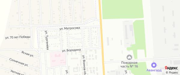 Спортивная улица на карте Стерлитамака с номерами домов