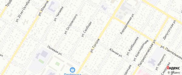 Южная улица на карте Стерлитамака с номерами домов