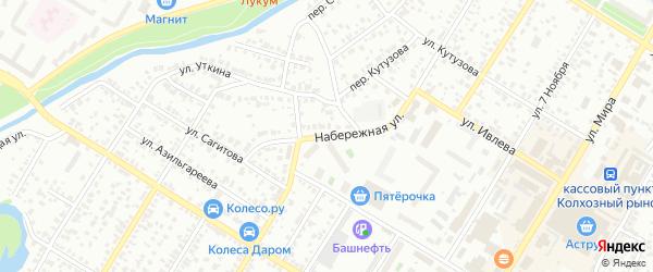 Набережная улица на карте Стерлитамака с номерами домов