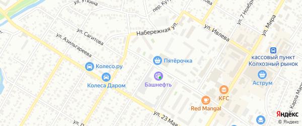 Улица Сагитова на карте Стерлитамака с номерами домов