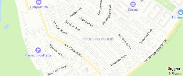 Взлетная улица на карте Уфы с номерами домов