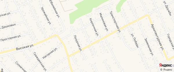 Заводская улица на карте Благовещенска с номерами домов