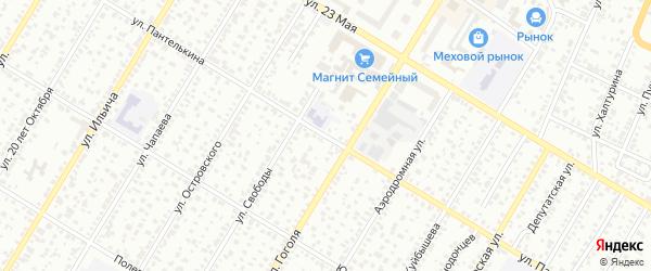 Улица Пантелькина на карте Стерлитамака с номерами домов