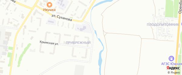 Ботаническая улица на карте Стерлитамака с номерами домов