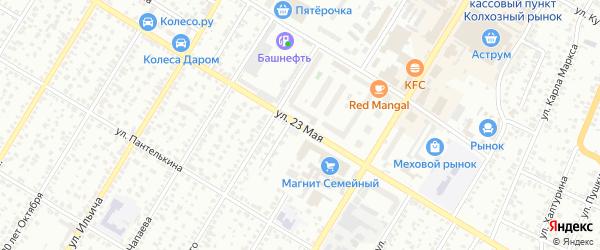 23 Мая улица на карте Стерлитамака с номерами домов