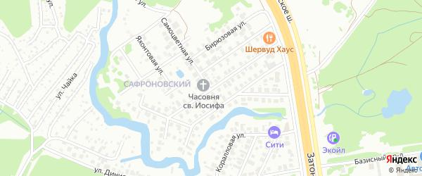 Улица Кадырова на карте Заречного населенного пункта с номерами домов