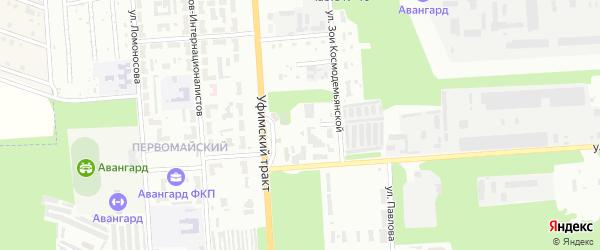 Улица Осипенко на карте Стерлитамака с номерами домов