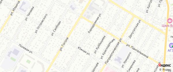 Аэродромная улица на карте Стерлитамака с номерами домов