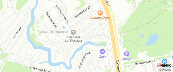 Улица Афзала Тагирова на карте Уфы с номерами домов