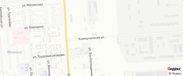 Коммунальная улица на карте Стерлитамака с номерами домов