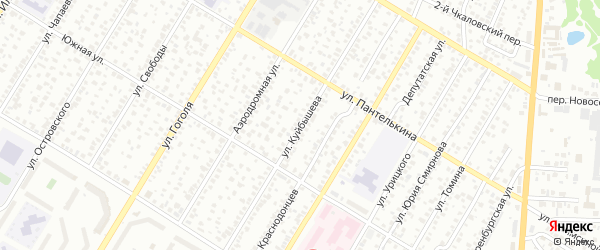 Улица Куйбышева на карте Стерлитамака с номерами домов