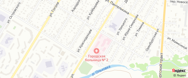 Патриотическая улица на карте Стерлитамака с номерами домов