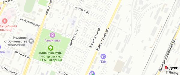 Элеваторный 3-й переулок на карте Стерлитамака с номерами домов