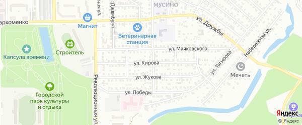 Улица Кирова на карте Салавата с номерами домов