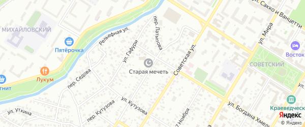 Улица Латыпова на карте Стерлитамака с номерами домов