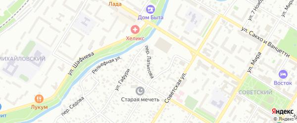 Переулок Латыпова на карте Стерлитамака с номерами домов